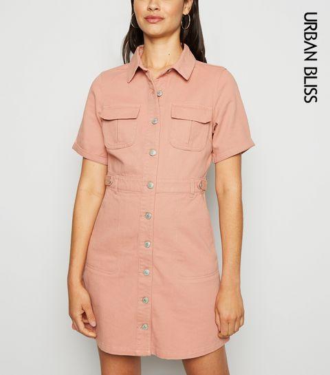 970a140206 Shirt Dresses   Long Shirt Dresses & Denim Shirt Dresses   New Look