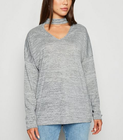 8ddab4ce0d074e Women's Grey Jumpers & Cardigans | Grey Knitwear | New Look