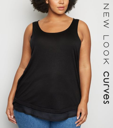 55851387b2340b Plus Size Tops | Plus Size Blouses & Shirts | New Look