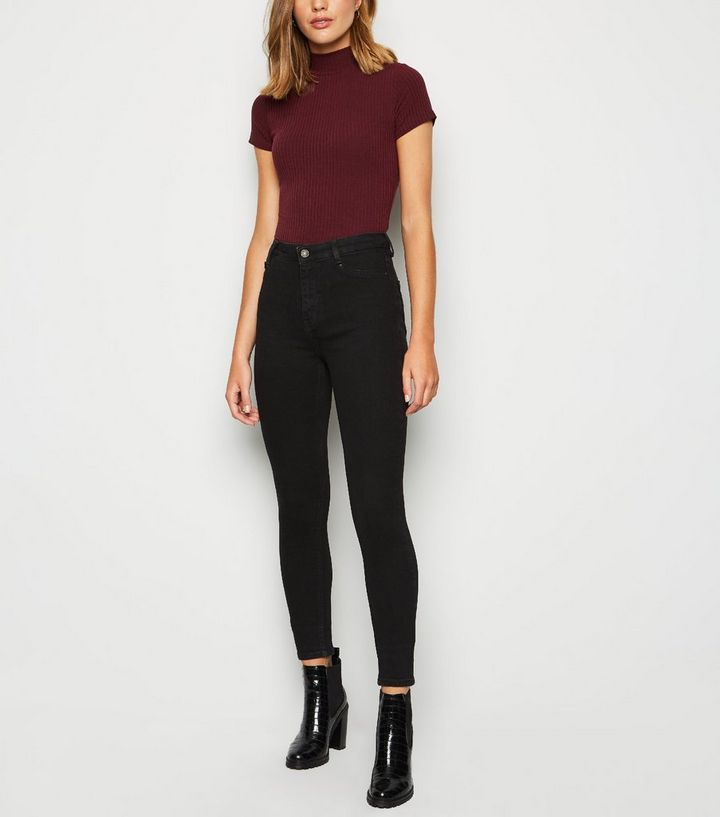 order comfortable feel choose authentic Black High Waist Super Skinny Hallie Jeans Add to Saved Items Remove from  Saved Items