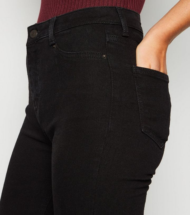 5b7b709f Black High Waist Super Skinny Hallie Jeans Add to Saved Items Remove from  Saved Items
