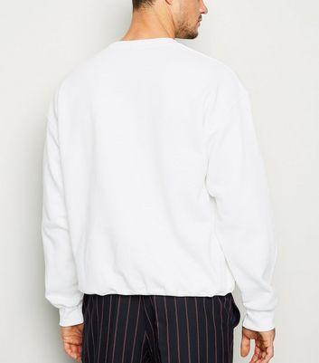 """Weißes Sweatshirt mit """"New York"""" Slogan Für später speichern Von gespeicherten Artikeln entfernen"""