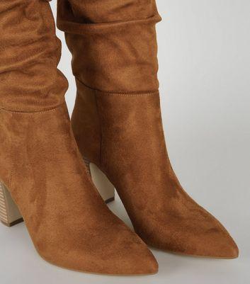 Braune Stiefel für Damen   Stiefeletten & mehr   New Look