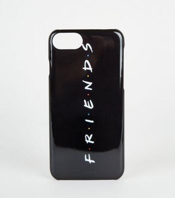 Coque noire pour Iphone à logo Friends