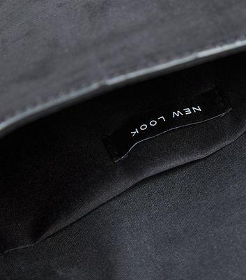 shop for Black Suedette Diamanté Ring Clutch Bag New Look Vegan at Shopo
