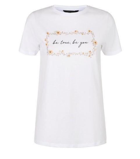 f4d6a3ecb85cd Slogan Tees | Slogan & Logo T-Shirts | New Look
