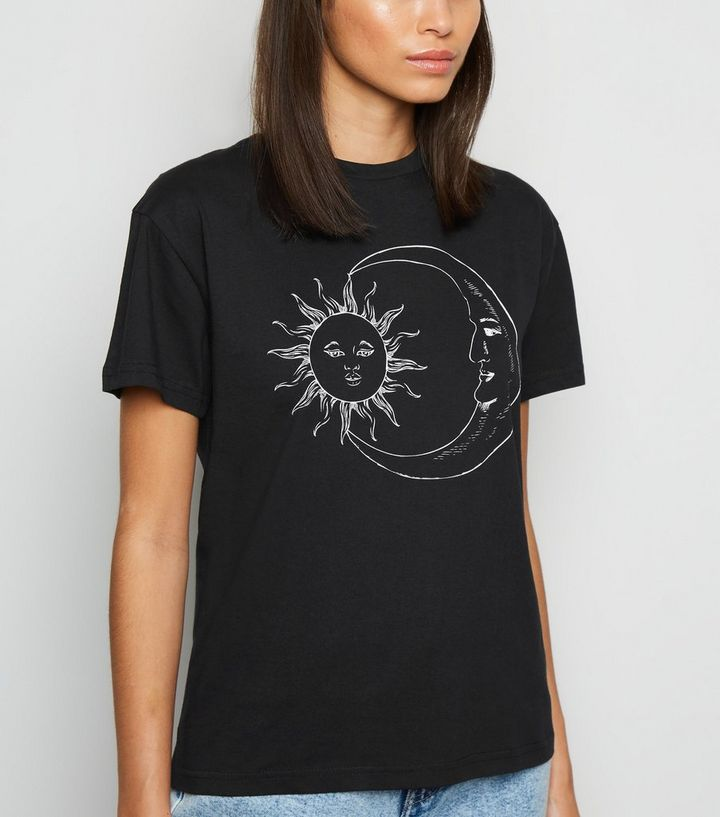 Innocence Black Moon and Sun T-Shirt Add to Saved Items Remove from Saved  Items