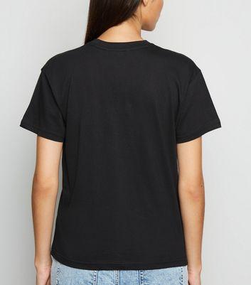 Innocence Black Moon and Sun T-Shirt New Look