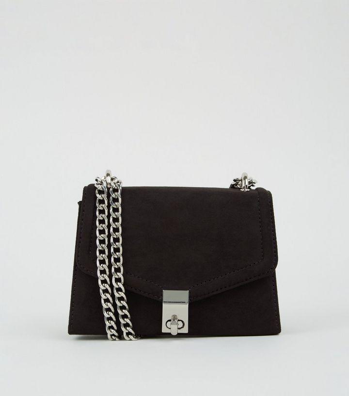 half price latest design elegant shoes Black Mini Chain Shoulder Bag | New Look