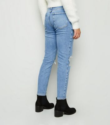 New Look Girls Comfort Stretch Mom Jeans