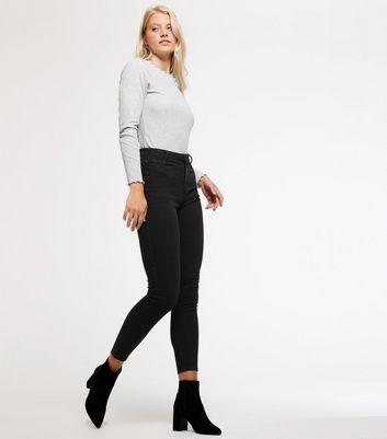 Black High Waist Super Skinny Jeans Für später speichern Von gespeicherten Artikeln entfernen