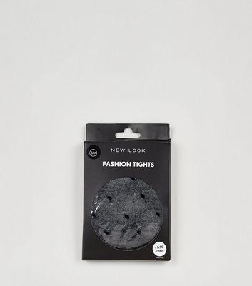 schwarze strumpfhose