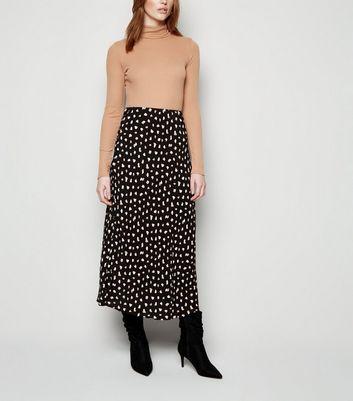 Tall Jupe mi longue noire à pois contrastants Ajouter à la Wishlist Supprimer de la Wishlist