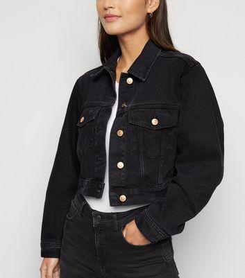 Petite Veste courte en jean noir Ajouter à la Wishlist Supprimer de la Wishlist