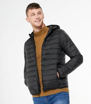 Black Hooded Puffer Jacket Für später speichern Von gespeicherten Artikeln entfernen