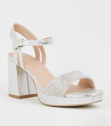 platform wide fit sandals