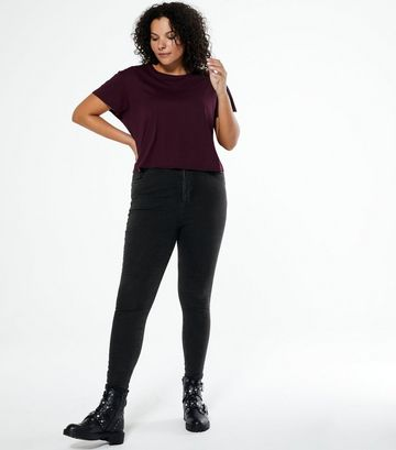 Curves Black 'Lift & Shape' High Waist Jeans