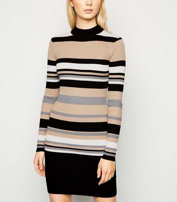 Sunshine Soul Multicoloured Stripe Mini Dress New Look