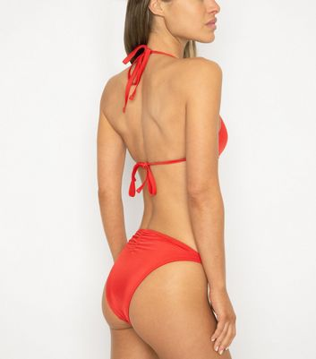 Wolf & Whistle Red Chain Hipster Bikini Bottoms Add to Saved Items Remove from Saved Items