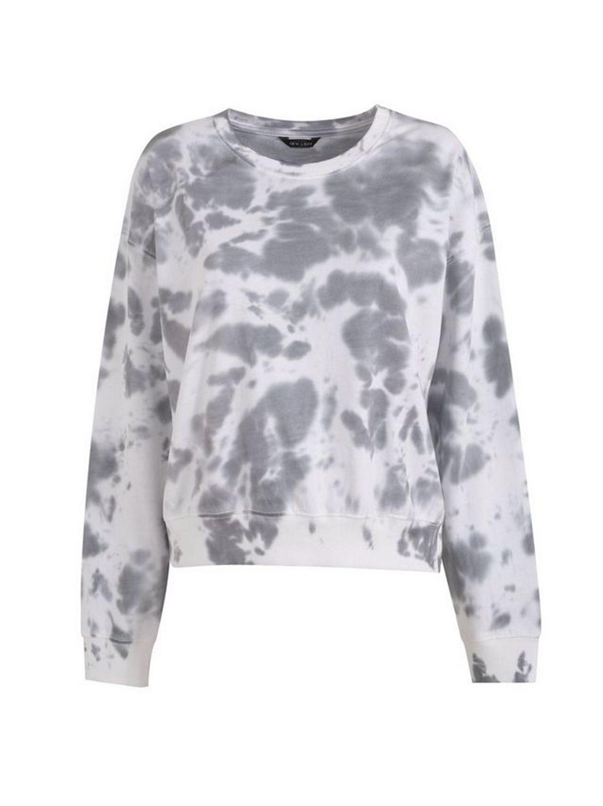 Dark Grey Tie Dye Sweatshirt